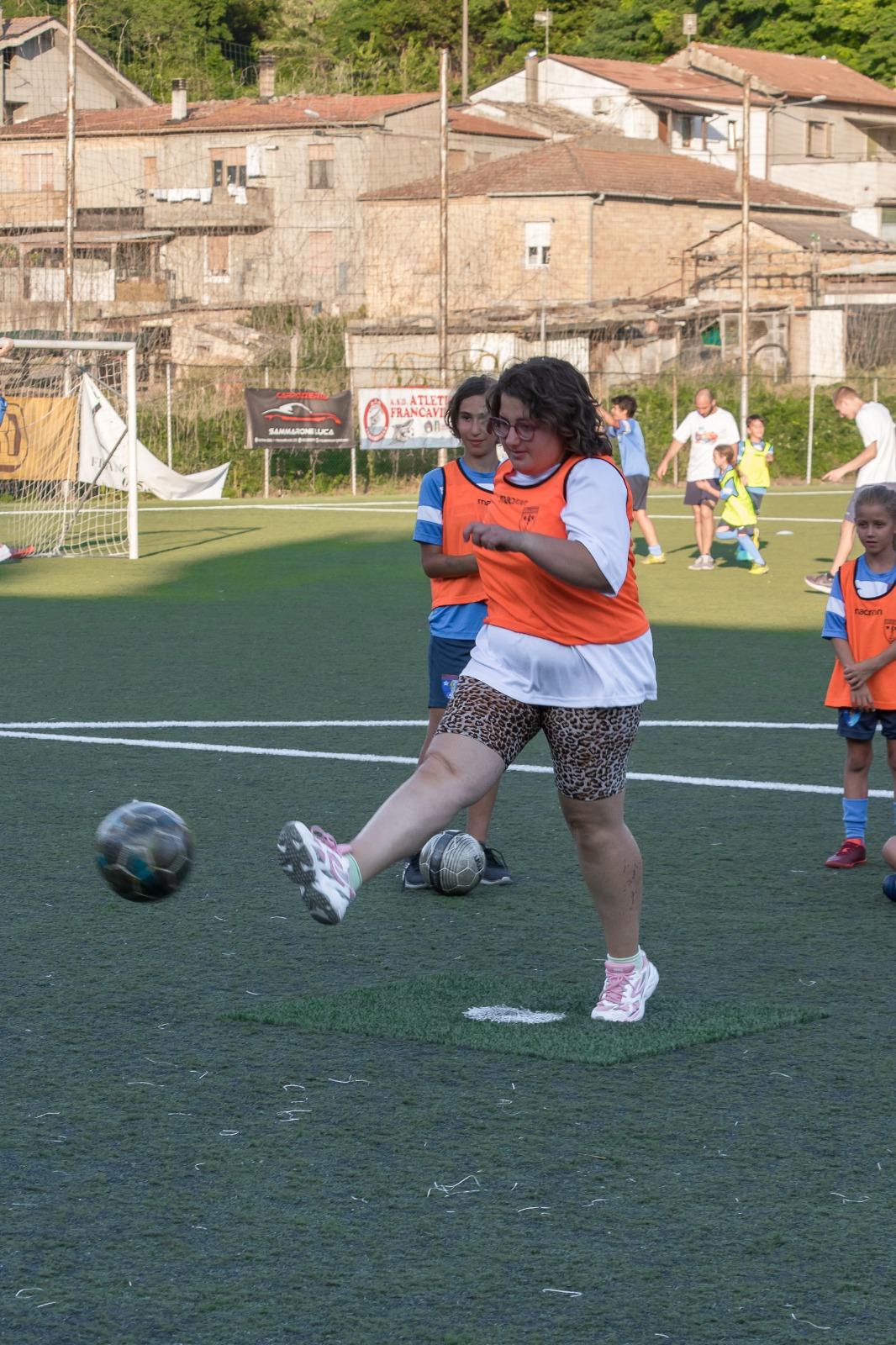 Il secondo allenamento inclusivo